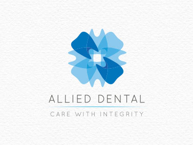 Allied Dental || Branding and Stationary | Tickled Pink Confetti | by Veronika Kahrmadji