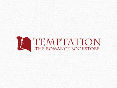 Temptation the Romance Bookstore | graphic design, branding, marketing | www.tickledpinkconfetti.com.au | by Veronika Kahrmadji