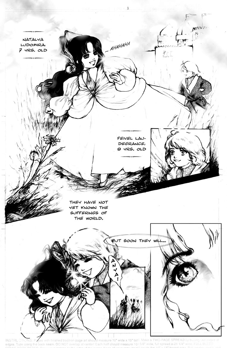 Comic Book Illustration | Tickled Pink Confetti by Veronika Kahrmadji