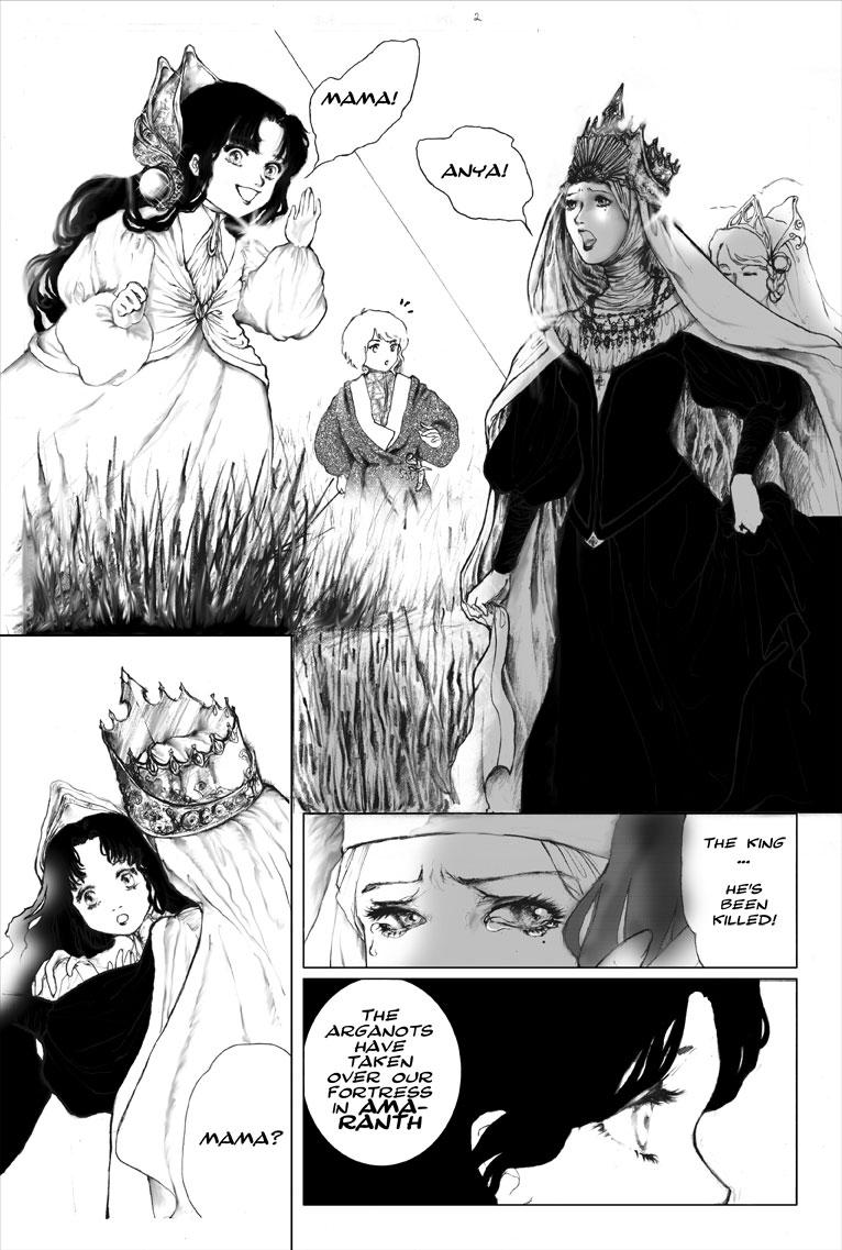 Comic Book Illustration | Japanese Manga | Tickled Pink Confetti by Veronika Kahrmadji