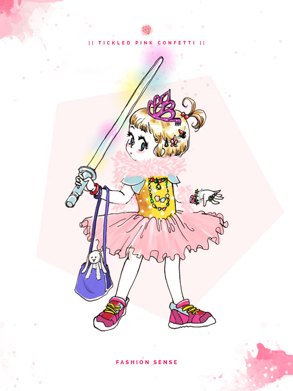 Veronika's Little World | Fashion Sense | Parenting humor | Webcomic