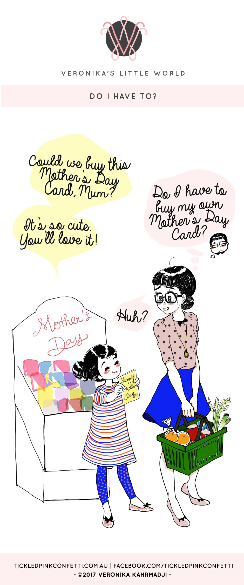 Veronika's Little World || Do I Have to? || Mother's Day Webcomic
