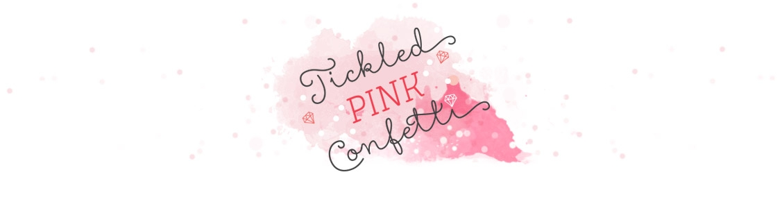 Tickled Pink Confetti by Veronika Kahrmadji