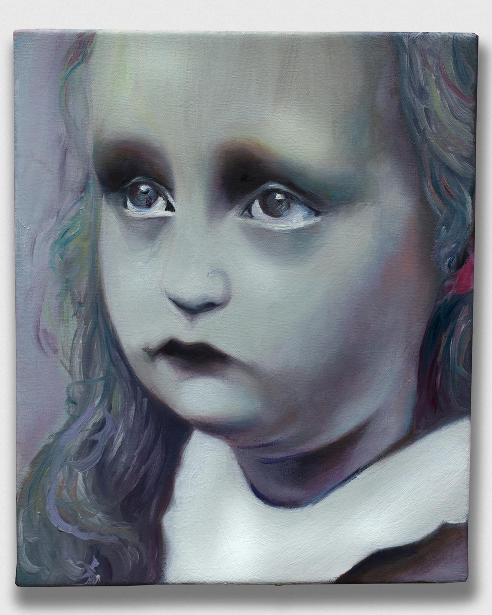 """Crestfallen,    2015, oil on canvas, 10x12"""""""