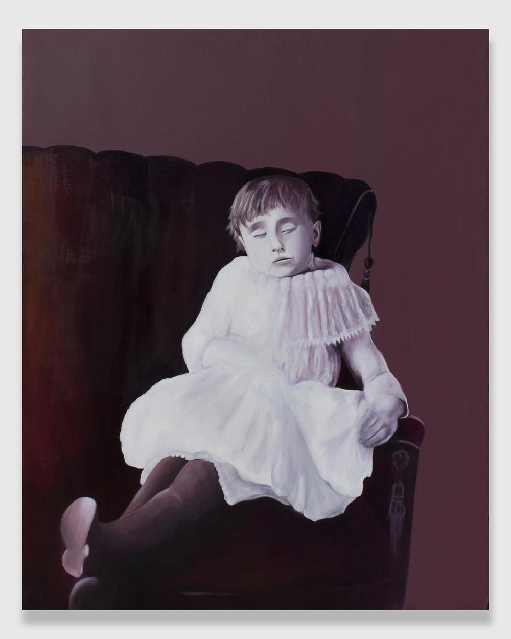 "Hester,  2014,oil on canvas,48x60"""