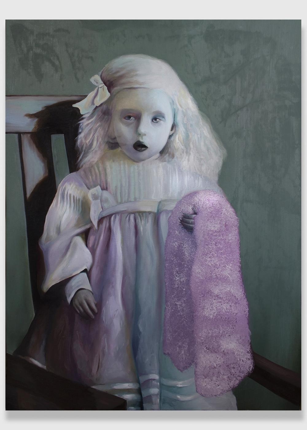 """Penumbra,  2014, oil on canvas, 30x40"""""""