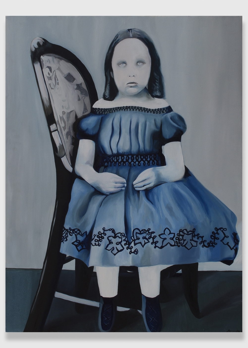 "Emily,  2013,oil on canvas, 36x48"""