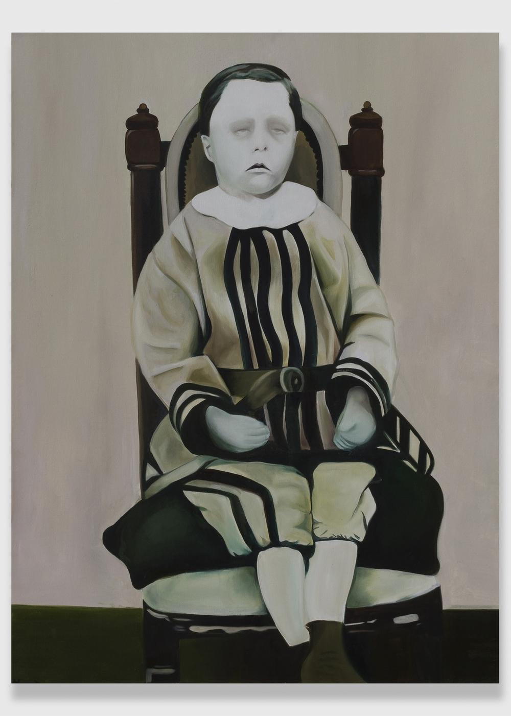 """Winston,  2013, oil on canvas,36x48"""""""