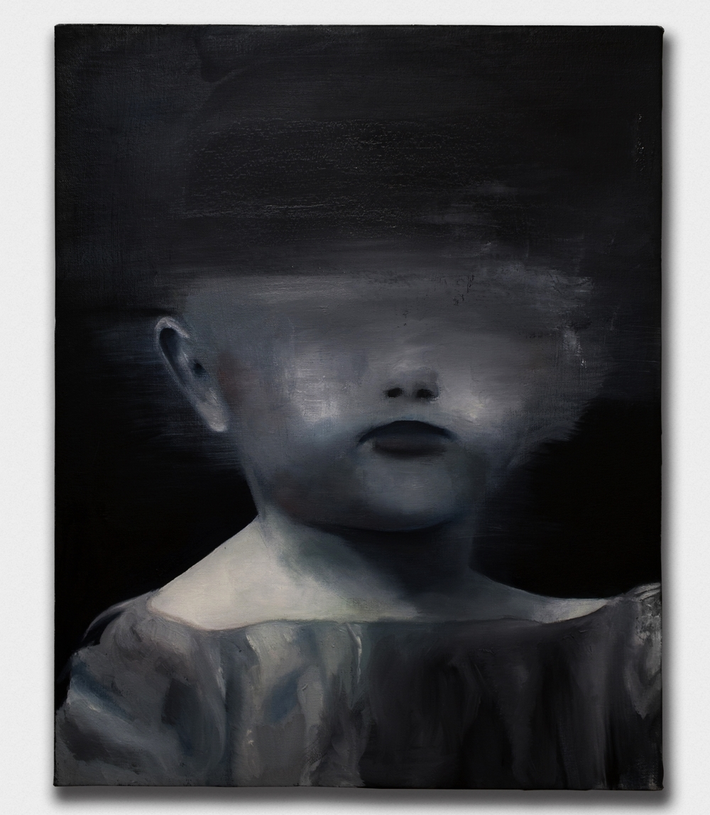 Adrift,  2015, oil on canvas, 16x20''
