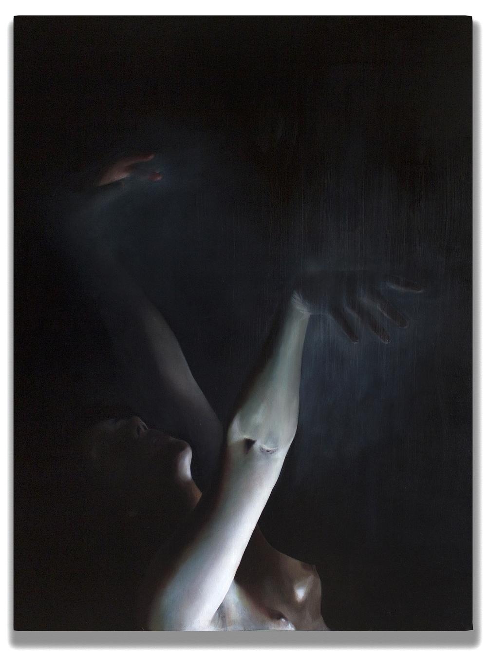 A Pale Glow,  2015, oil on canvas, 30x40''
