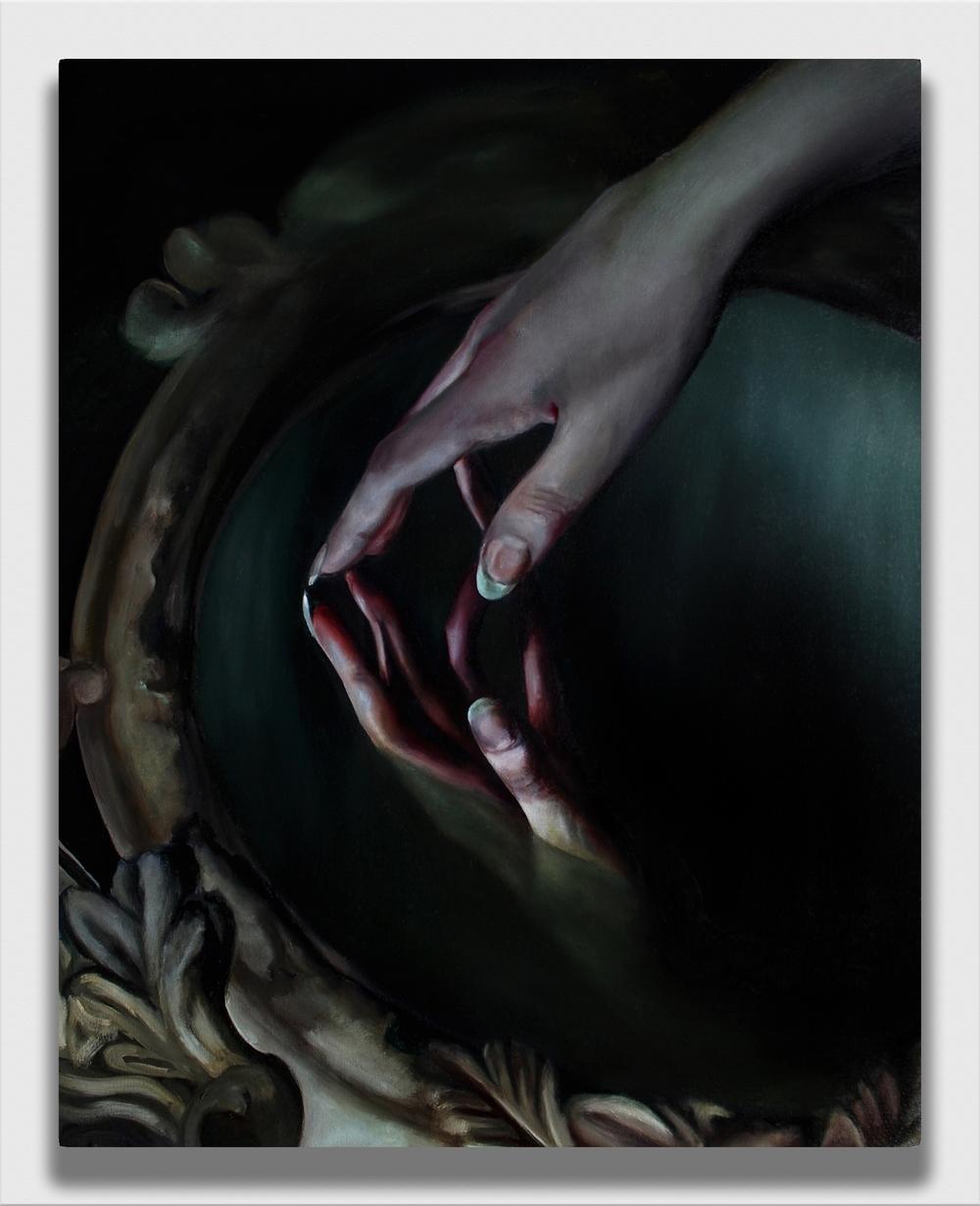 The Furthest Reach,  2016, oil on canvas, 24x30''