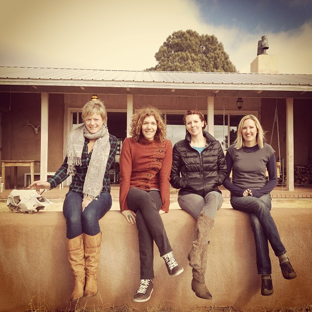 The #photoranch girls: Elizabeth Clark Libert, Marina Font, Heather Evans Smith, Lisa Blair