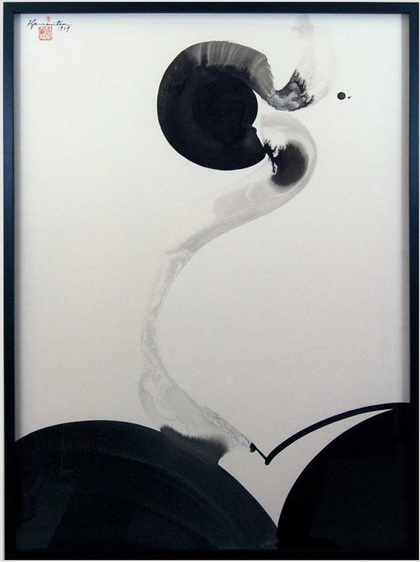 Untitled by Matsumi Kanemitsu, 1969