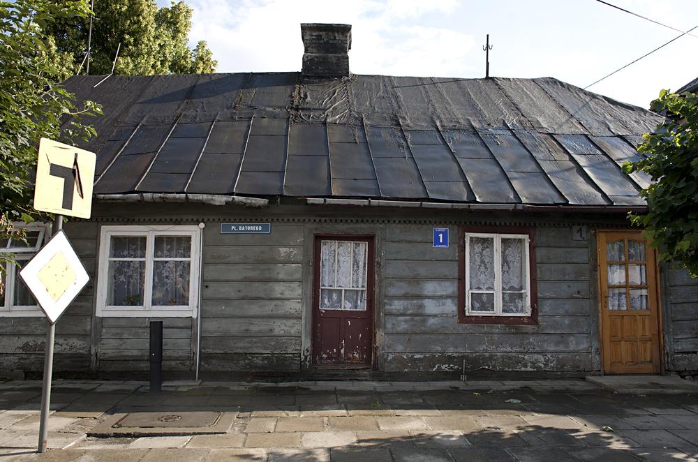 Former Shtetl , Czerwiñsk  Poland, 2008