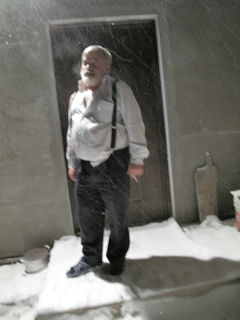 Yakov in Winter, Drohobych, Ukraine 2009