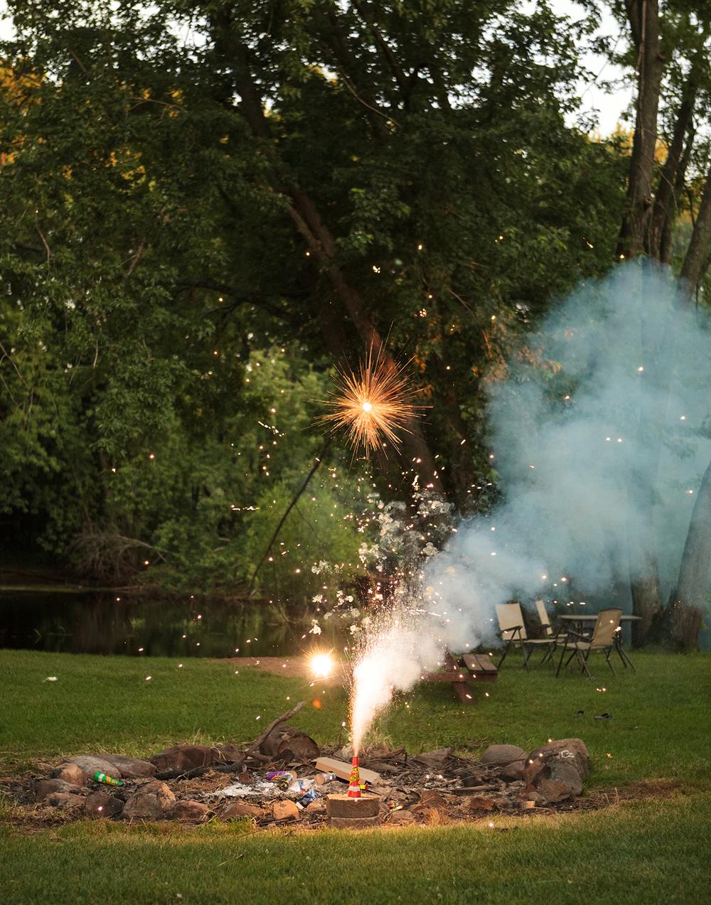 Fireworks by Kurt Simonson