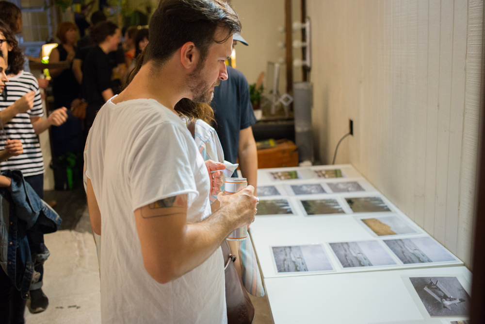 Tiered print sale, photo by Sean Carroll
