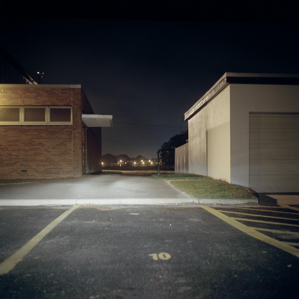 High School Parking Lot, 2003