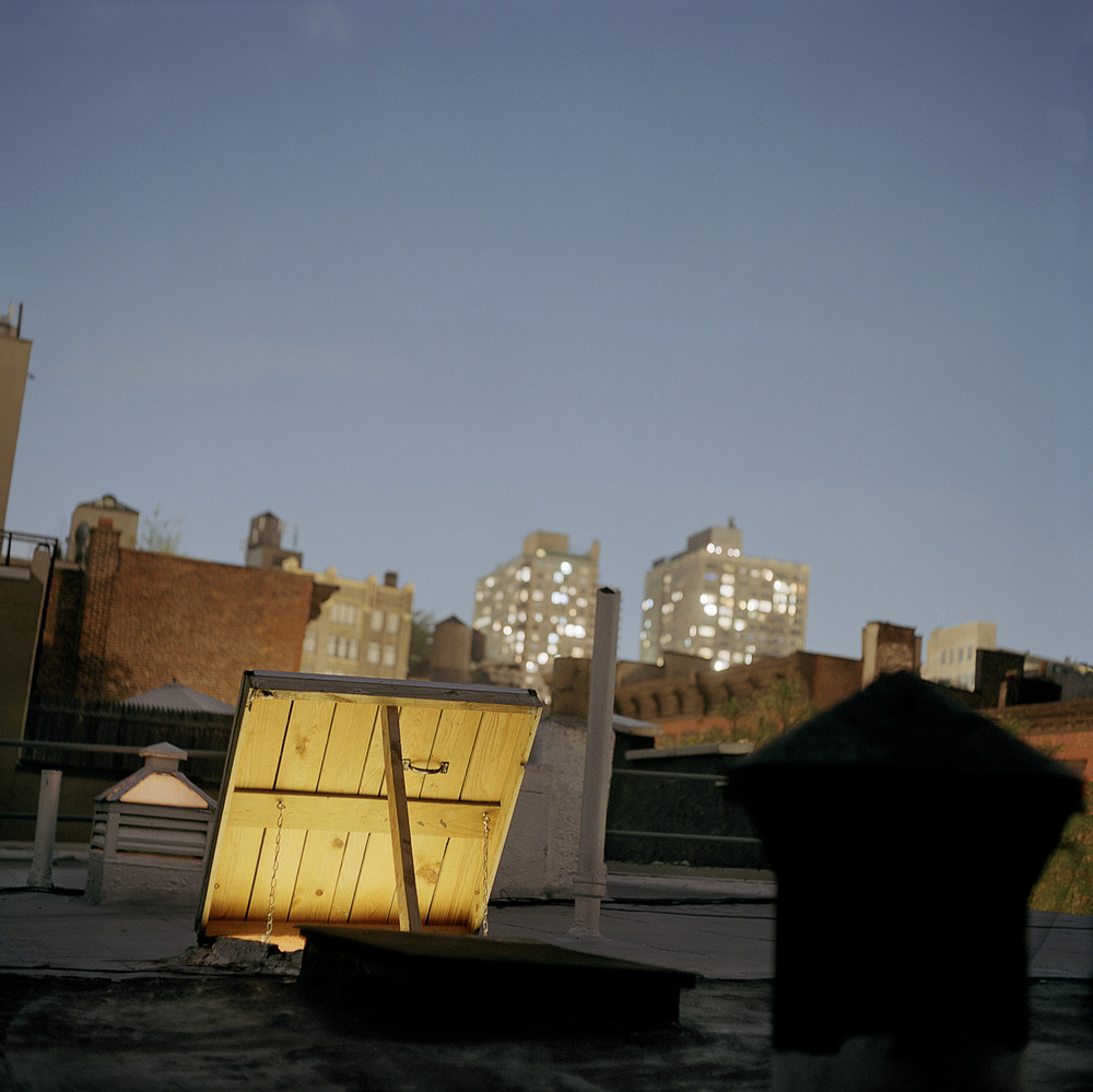East Village Rooftop, 2003