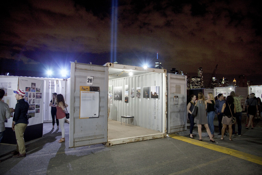 Photoville's shipping container exhibitions