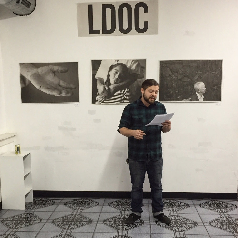 Eric Hazen reading from Issue 01.01