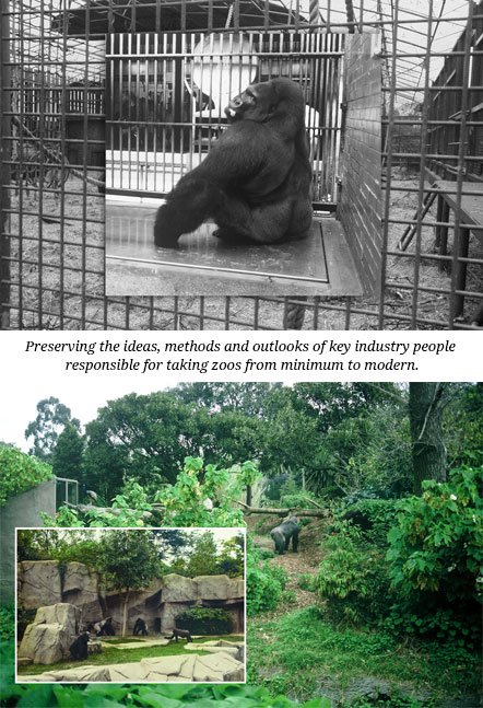 Taking zoos from minimum to modern