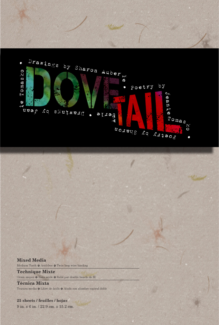 Sample poems and art from:Dove Tail -