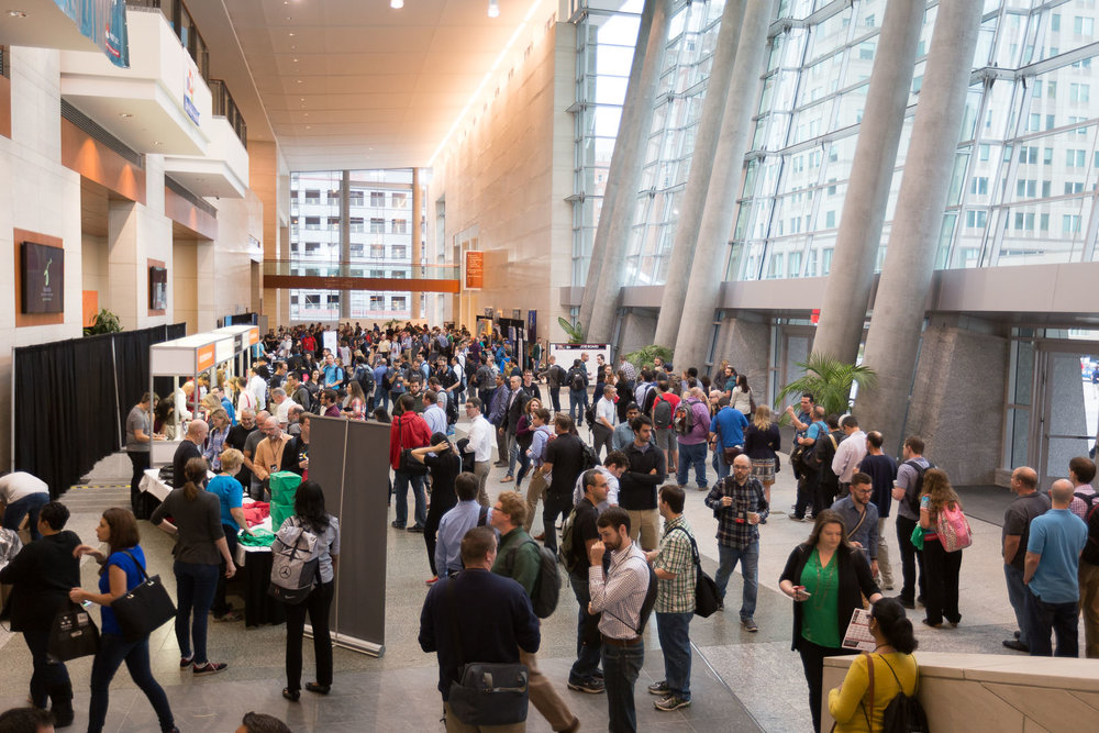 The  All Things Open  conference was held at the  Raleigh Convention Center , a beautiful venue for a multi-stage event.