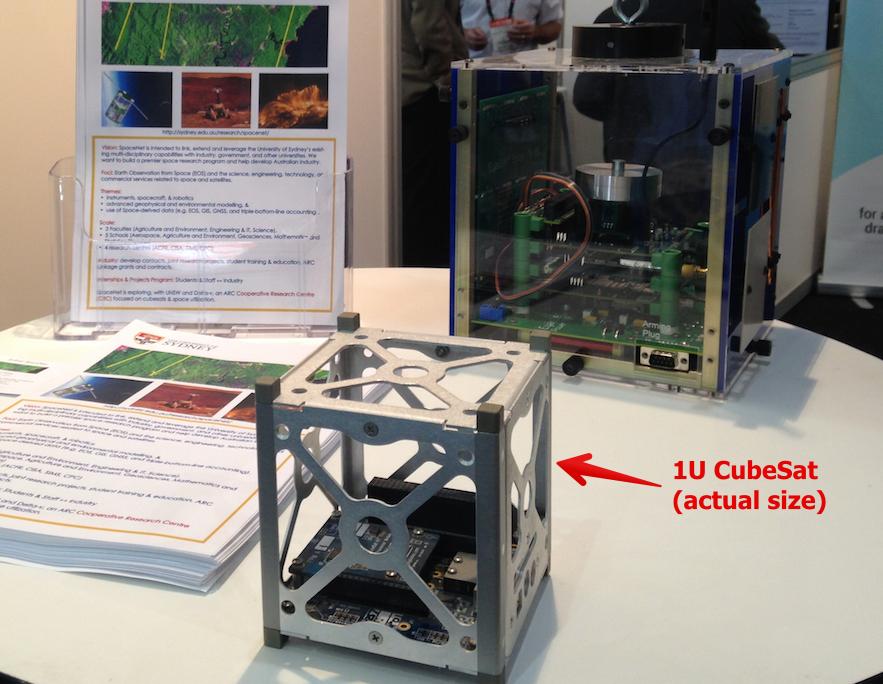 SpaceNet's CubeSat