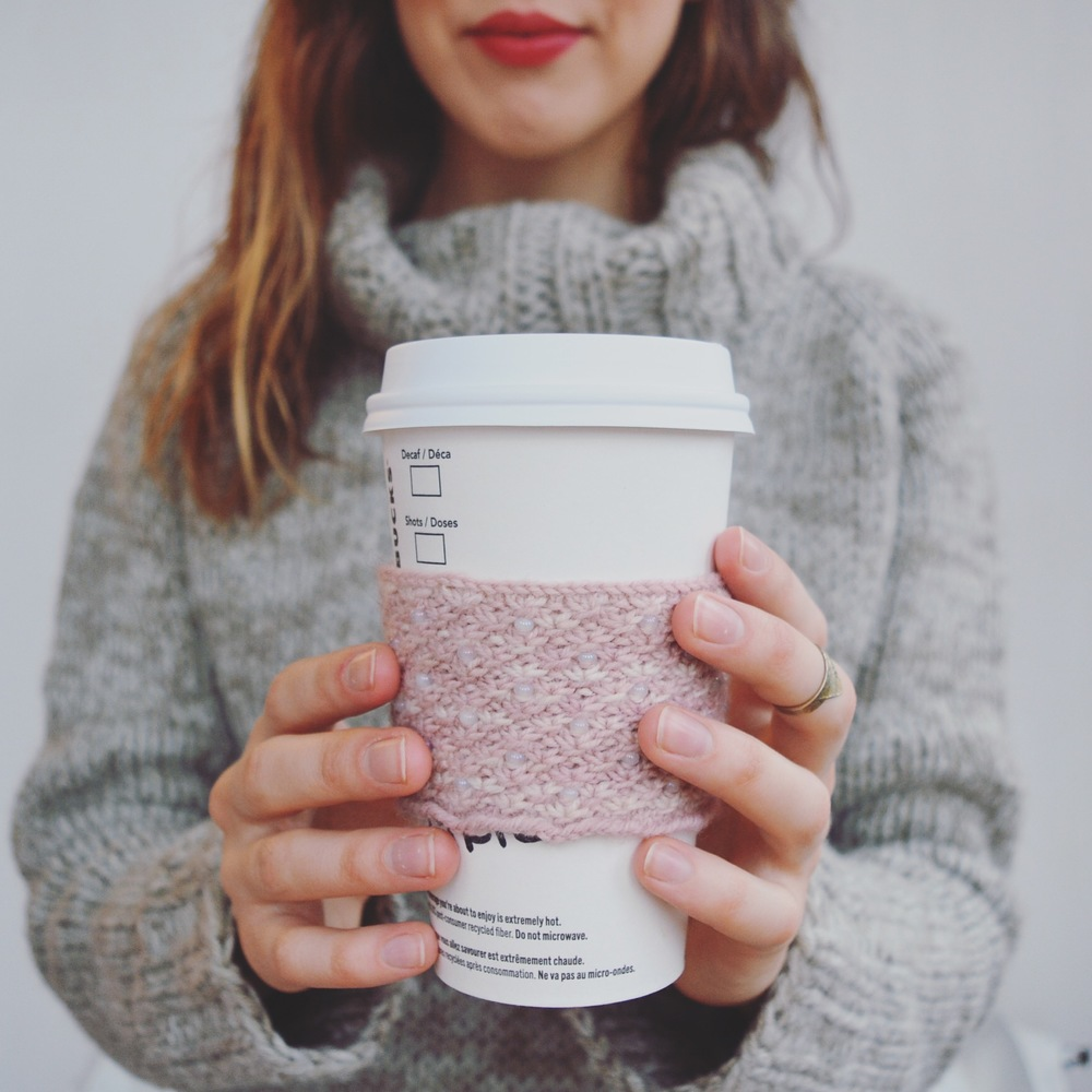 Daisy Coffee Cozy