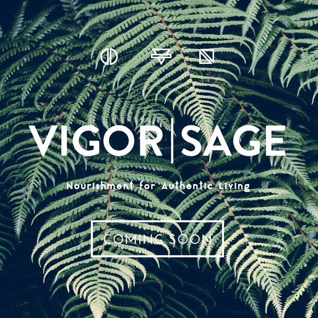 A new project I have been working on will be launching soon! Head on over to @vigorandsage for updates and information. Seriously, this is going to be killer! 💪🏼 #vigorandsage #authenticliving #startuplife #design #liveauthentic