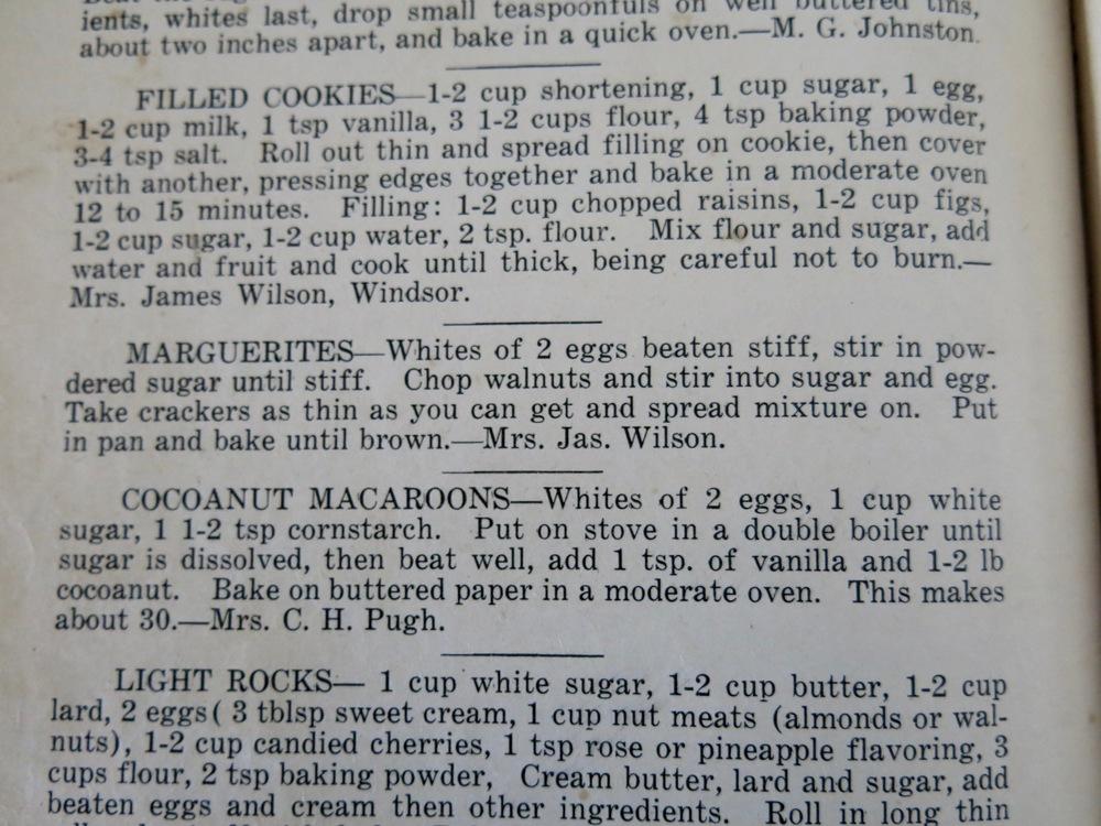 The recipe.