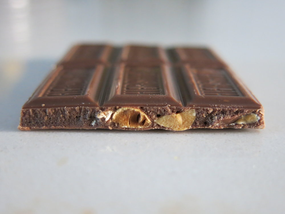 High definition interior shot of a Mr. Goodbar