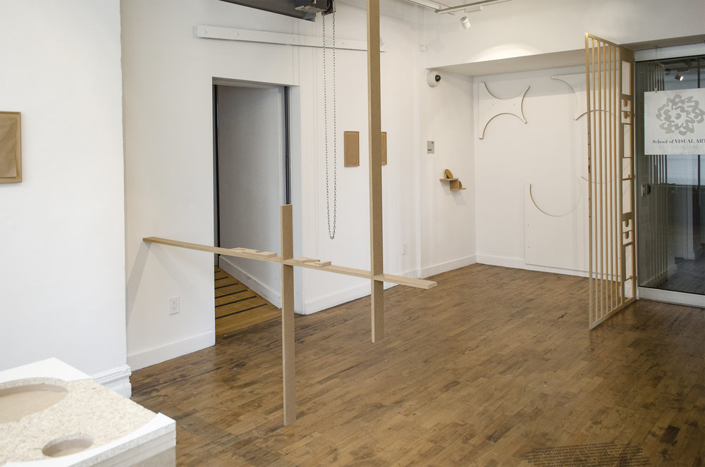 Mani-facture installation view  2017  Visible Futures Lab, School of Visual Arts, New York, NY