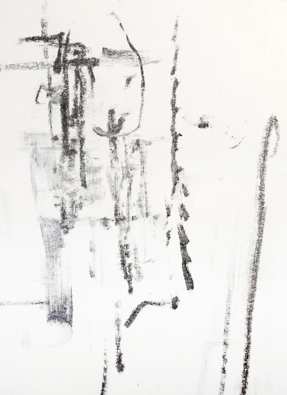 "6"" x 4.5""  graphite on paper"
