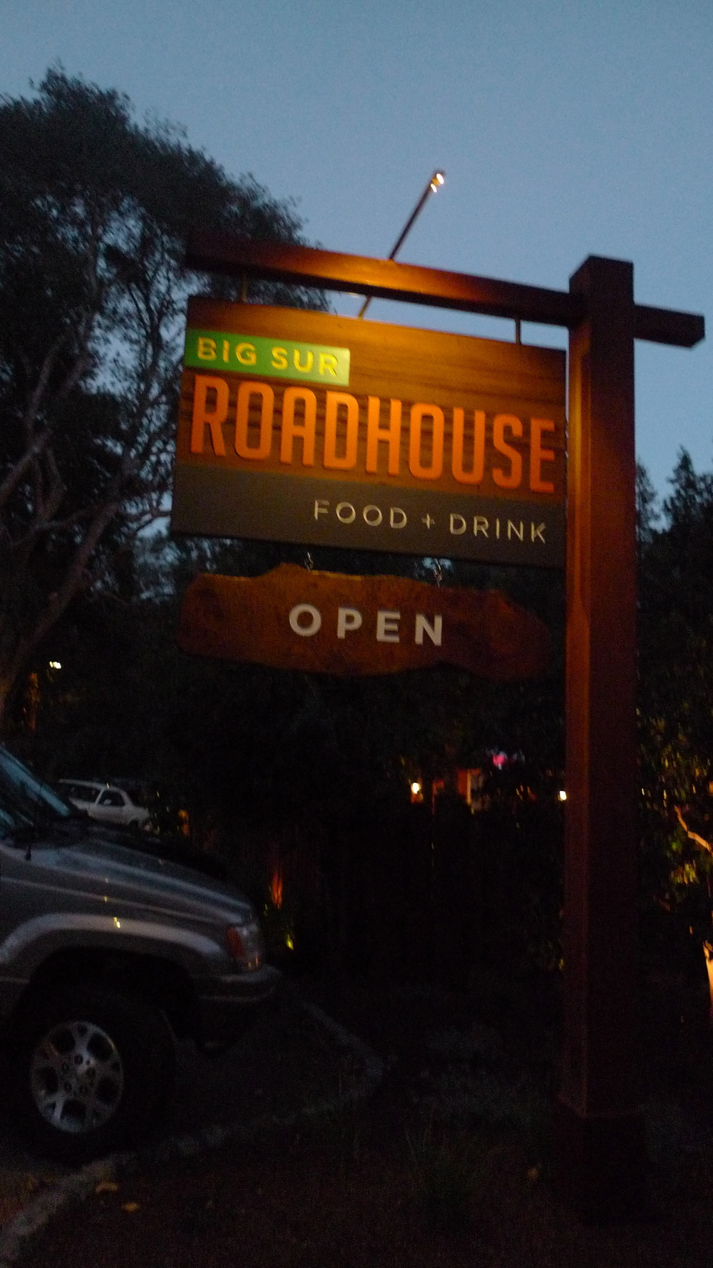 big sur roadhouse - big sur, ca