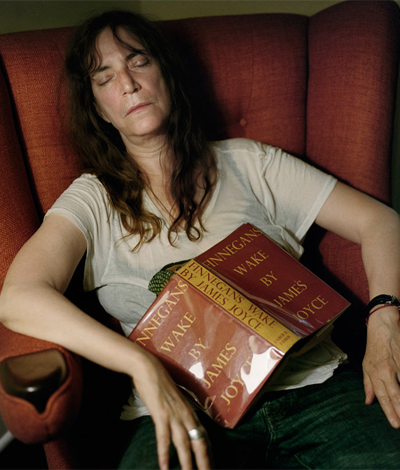 Patti Smith from  Asleep at the Chateau  by Jork Weismann