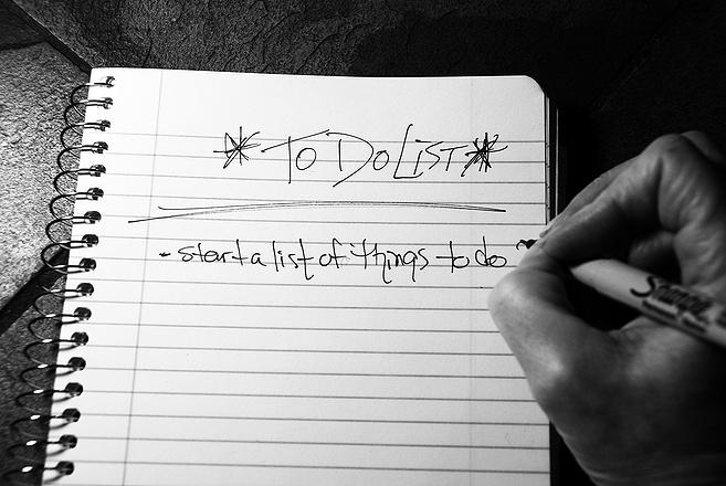 Write it down . . . I repeat, write it down.