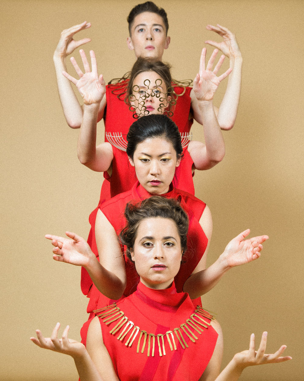 Dancers: Charlie Ashwell, Iris Chan, Janine Harrington & James Morgan