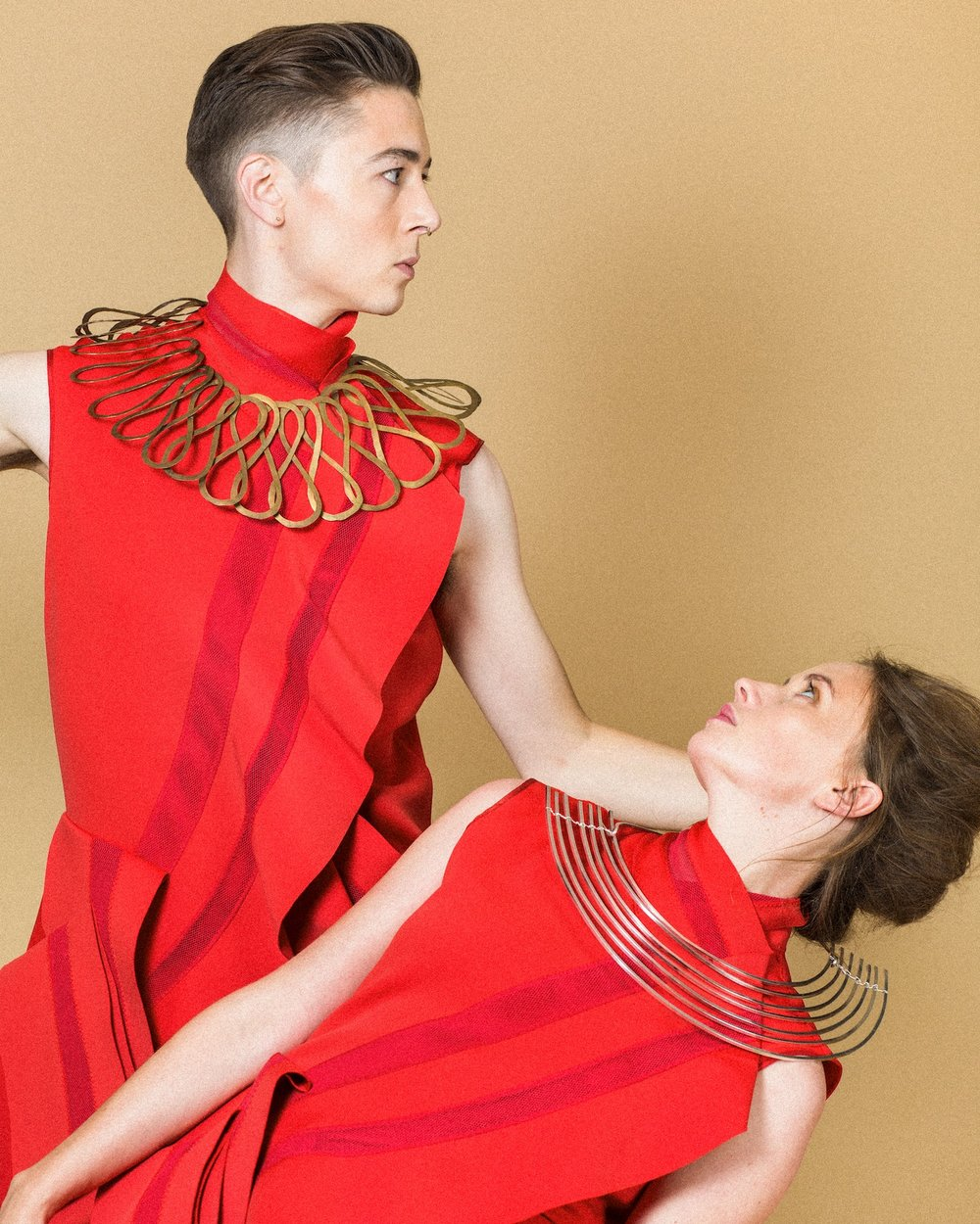 Photo shoot images: Alexander English.   Styling: Elise Overland.  Dancers: James Morgan & Janine Harrington