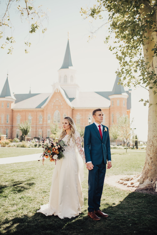 Provo City Center Temple Wedding Bridals