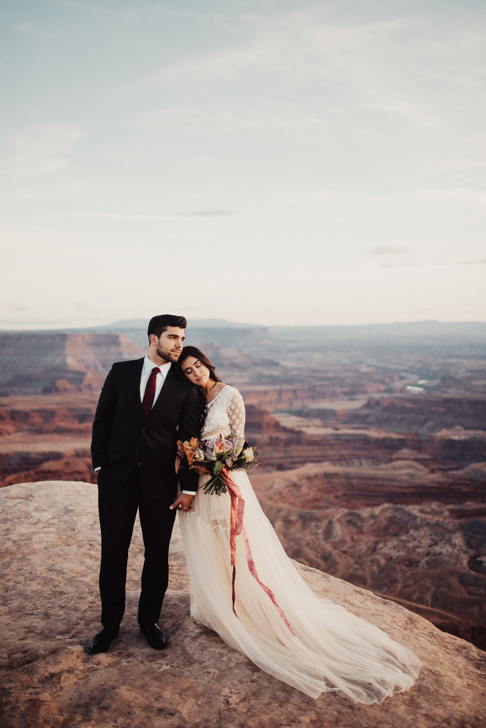 Dead Horse Point Southern Utah Bridals