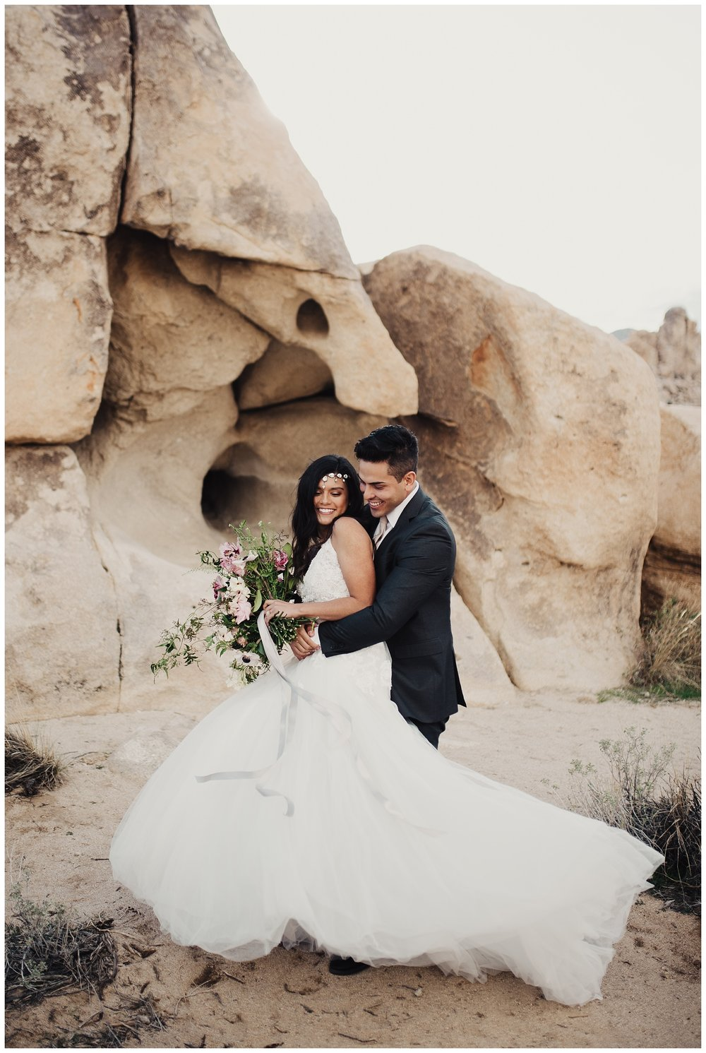 Joshua Tree Bridal Session