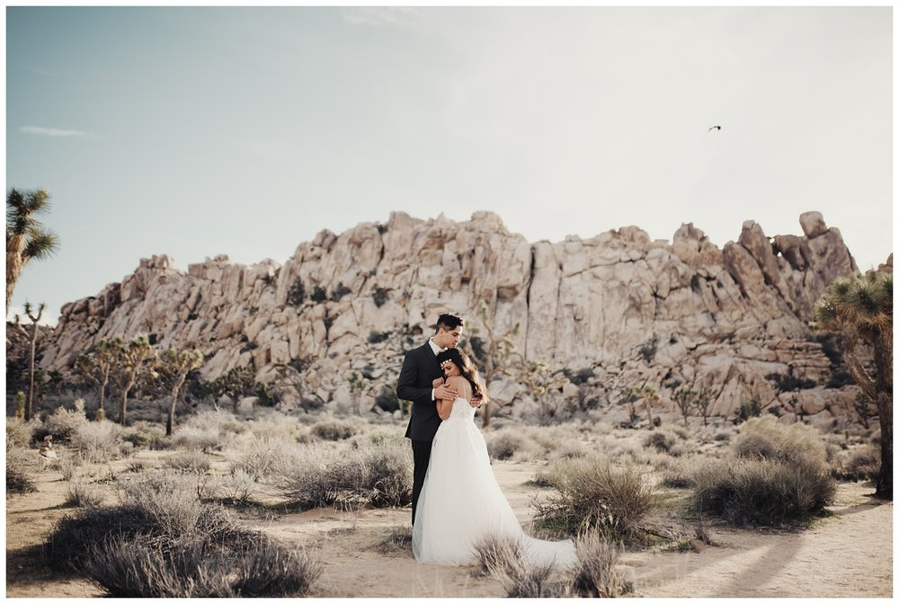 Joshua Tree California Bridal Session