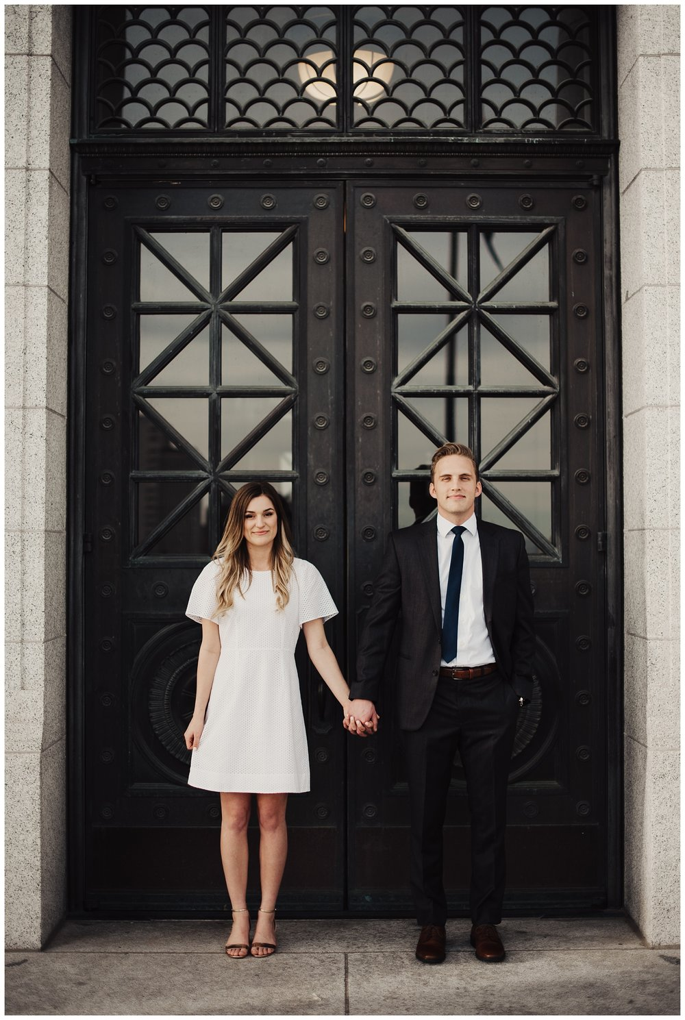 Utah Capitol Engagement Session
