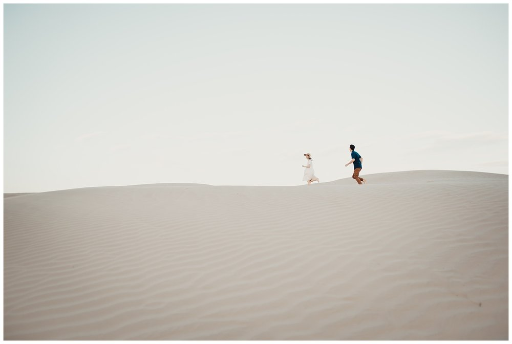 Utah Sand Dune's Engagement Session