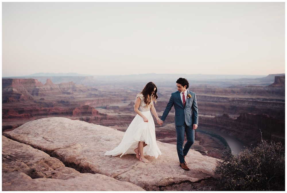 Dead Horse Point Moab Utah Bridals