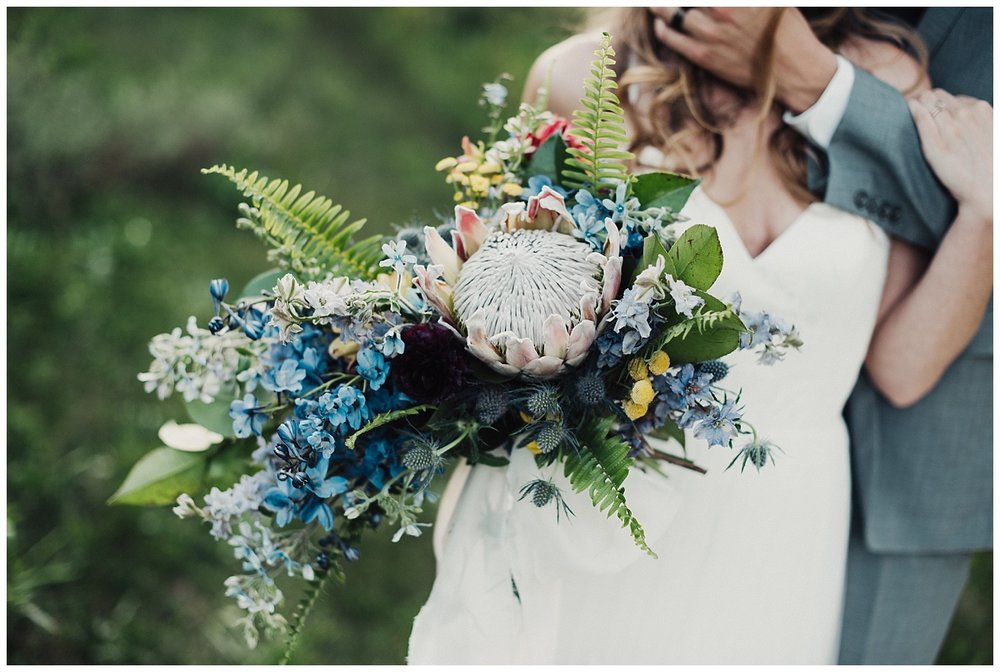 Magnolia Flower Co Bridal Bouquet