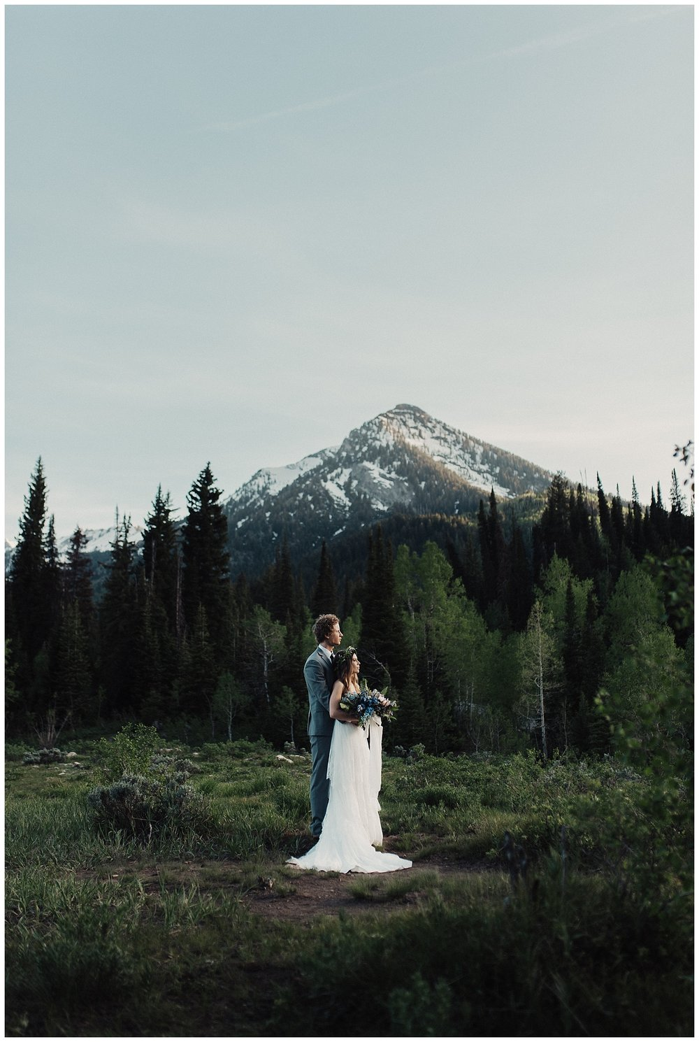 Jordan Pines Bridals in Big Cottonwood Canyon