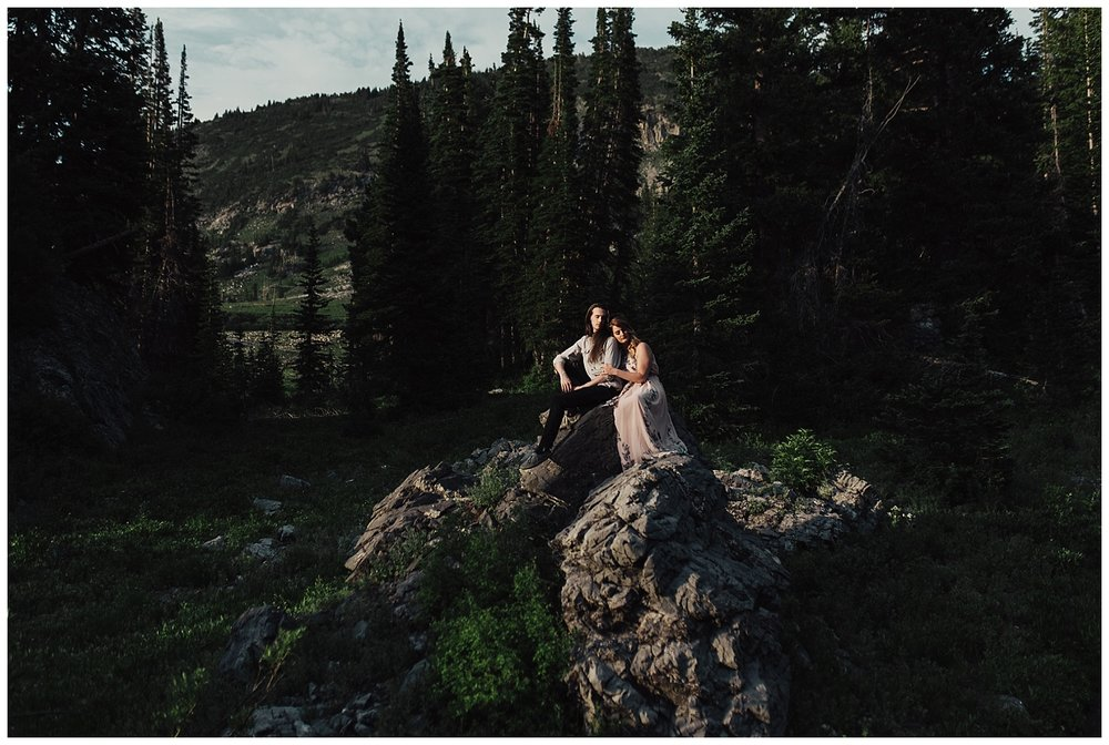 Albion Basin Engagement Session